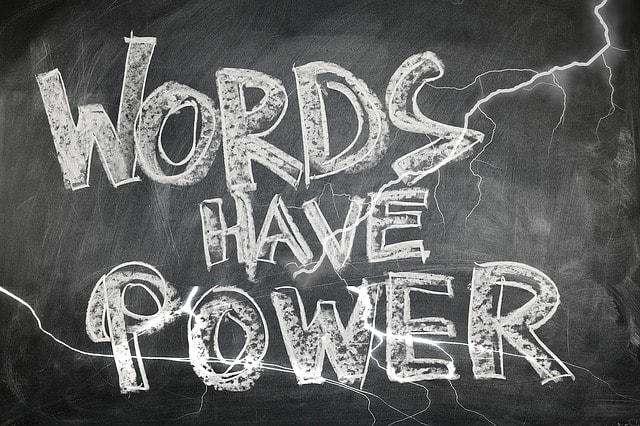 言葉の説得力