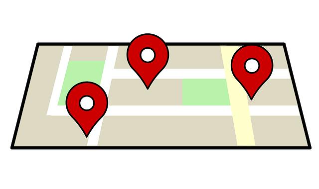 青年部Googleマップ
